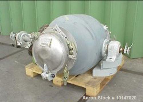 Used- Walter Stocklin Double Cone Tumbler Dryer