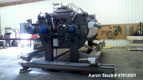 Used- Reconditioned 42X120 Double Drum Dryer.