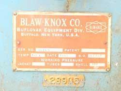 "USED: Blaw Knox / Buflovak Double Drum Dryer. 32"" diameter x 10' face, cored chrome plated carbon steel rolls, rated 160 psi..."