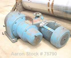 """USED: Blaw Knox / Buflovak Double Drum Dryer. 32"""" diameter x 10' face, cored chrome plated carbon steel rolls, rated 160 psi..."""