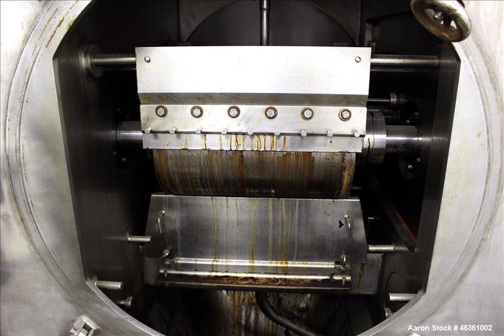 Buflovak Vacuum Double Drum Dryer