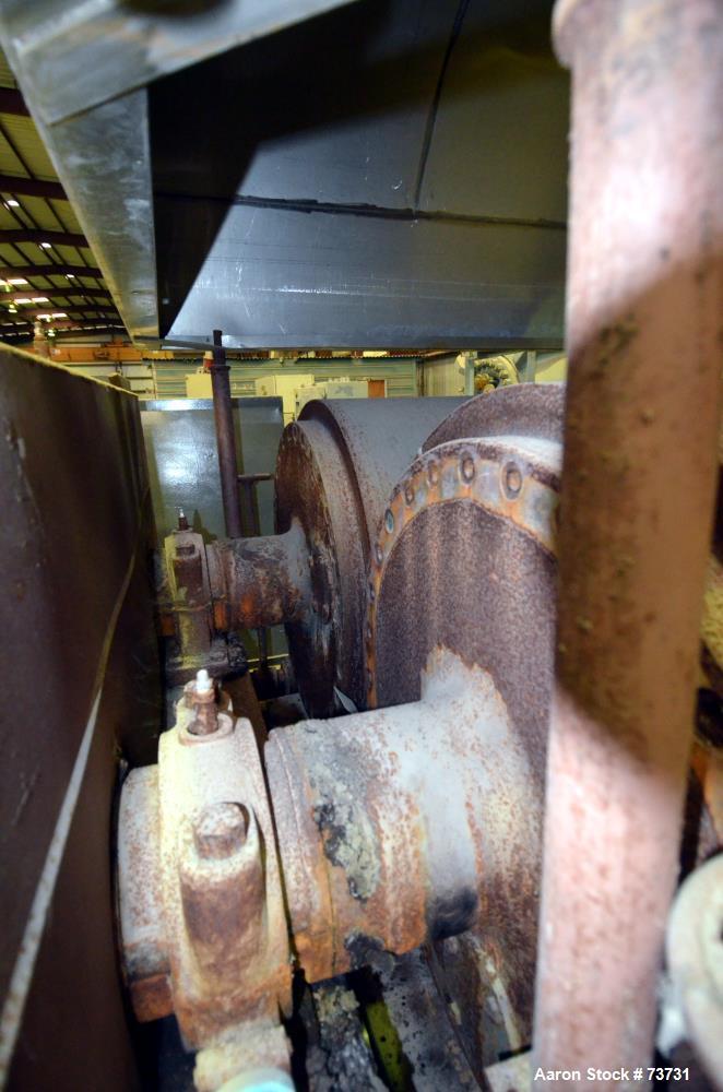 Used- Carbon Steel Buflovak Double Drum Dryer