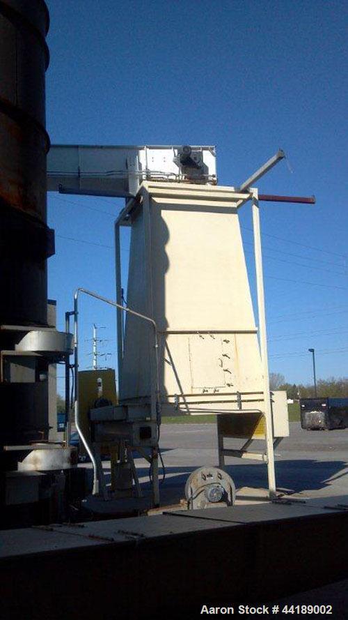 Used-Drupps QuadPass Rotary Drum Dryer.  13 Tons per hour drying capacity, 50 mm btu/hour Webbs biomass burner, 60,000 acfm,...