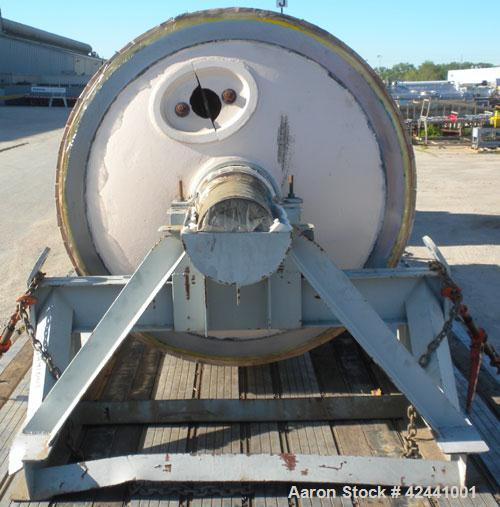 """Used- Goslin-Birmingham Re-Chromed Drum Dryer Roll, 60"""" diameter x 144"""" face. Rated 200 psi at 388 deg F. Includes carbon st..."""