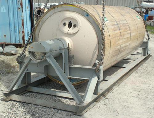 "Used- Goslin-Birmingham Re-Chromed Drum Dryer Roll, 60"" diameter x 144"" face. Rated 200 psi at 388 deg F. Includes carbon st..."