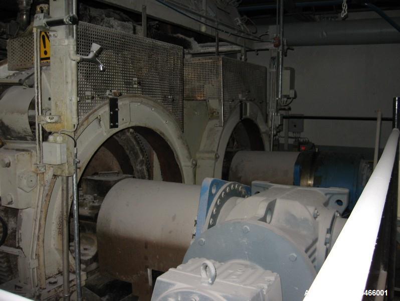 Used- Gouda Double Drum Dryer