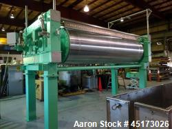 Used- GL&V Double Drum Dryer.