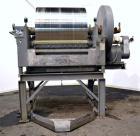 Used- Buflovak Single Drum Flaker, 304 Stainless Steel. 48
