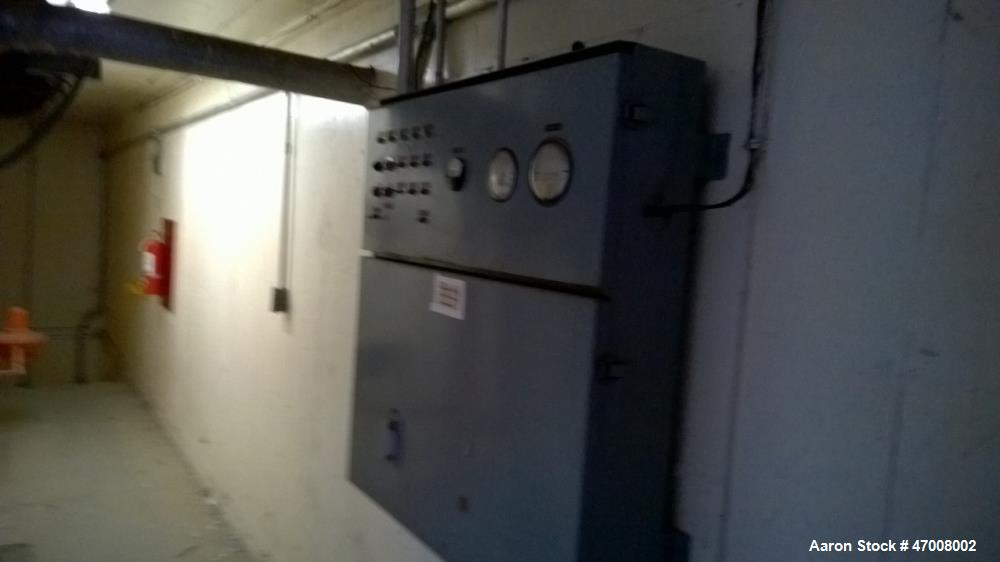 Used- Barr-Rosin Flash Dryer. Maxon Burner rated at 20,000 BTU capability for a pull-thru system and 30,000 BTU for a push-t...