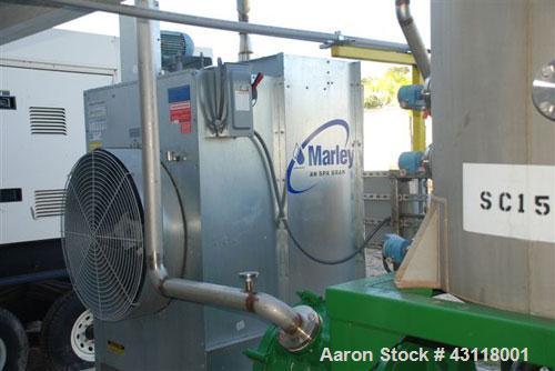 Used-Anhydro / APV Spin Flash Dryer, Model SFD-59, stainless steel. Chamber diameter 800 mm, feed vat diameter 1600 mm x 150...