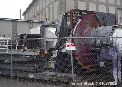 Used-APV Anhydro Type SFD-63 Spin Flash Dryer, W.O. #112-00-459, stainless steel construction. Unit includes an American Air...
