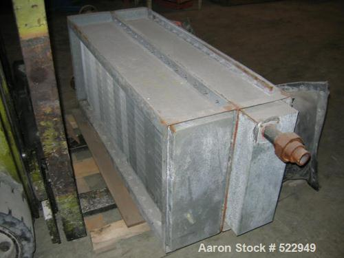 USED: Fluid bed cooler/dryer, Bepex model FBS-SS, all stainless steelconstruction. Bed is approximately 3' x 15'. Complete w...
