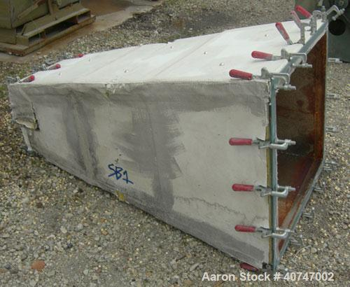 """Used-  Carman Industries Fluid Bed Dryer/Cooler, Model FBP-562.  Approximate 230"""" long x 45 1/2"""" wide stainless steel perfor..."""