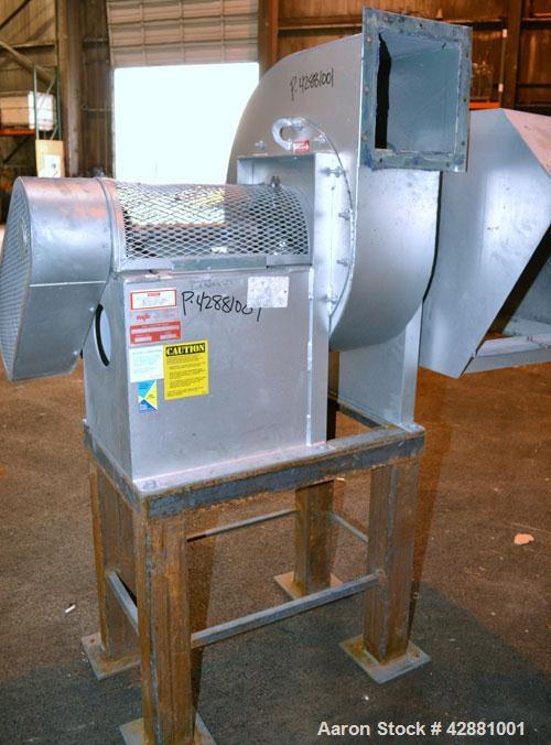 Used- Carrier Vibrating Equipment Dryer/Cooler, Model FCAD-12100S, 304 Stainless Steel. 11'' wide x 135'' long trough, appro...