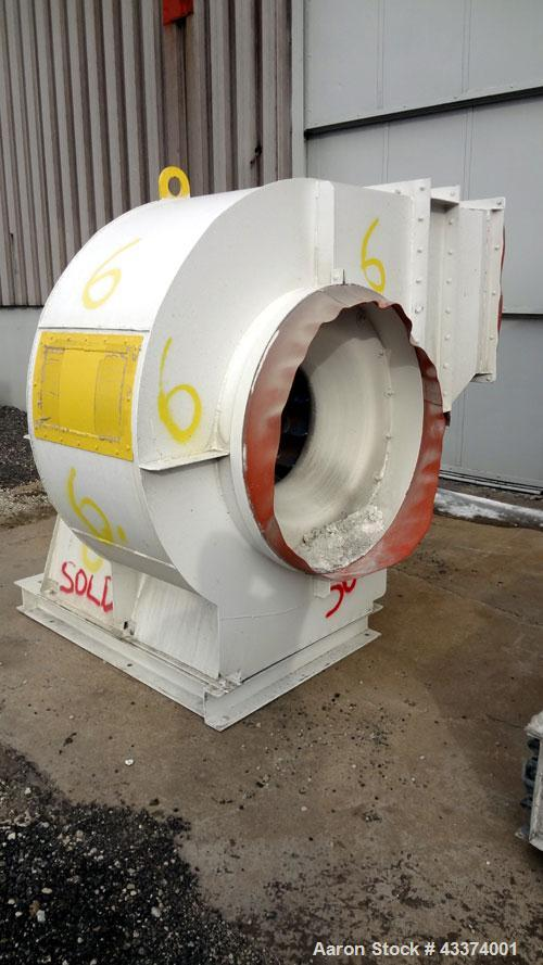 Used- Carrier Vibrating Equipment Fluid-Flow Vibrating Fluid Bed Dryer / Cooler, Model QAD/C-7260. 304 Stainless Steel. Over...