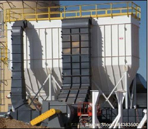 Used- Carrier Vibrating Equipment Inc Fluid Bed Dryer System