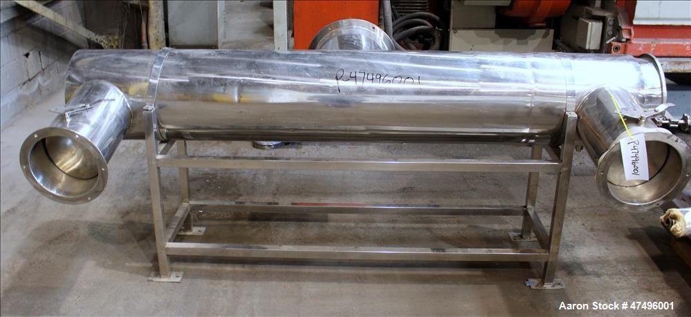 Used- Changzhou Xinli ZLG Rectilinear Vibratory Fluid Bed Dryer, Model ZLG-6 x 0