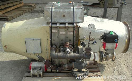 Used- General Kinematics Para-Mount Vibratory Continuous Fluid Bed Dryer, Model FBD-F.30X17.625, 316 Stainless Steel. Approx...