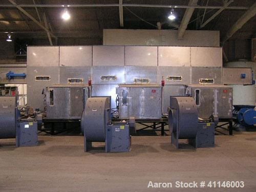 Used- Jet-Pro Industrial Continuous Flow Multi-Purpose Fluid Bed Dryer, Model 936M3, 304 Stainless Steel ( product contact a...