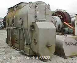 Used- Stainless Steel Strong Scott Continuous Fluid Bed Dryer System