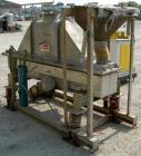 USED: Carrier Vibratory Continuous Fluid Bed Dryer, model FTAD1240S14GA, stainless steel. Approximate 10