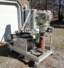 Used-Kason Skid Mounted Fluid Bed Dryer, Model K18/24-1FBD-SS.  Stainless steel, 18