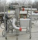 Used: Niro Continuous vibratory Fluid Bed Dryer, model VB03,316 stainless steel. Bottom perforated plate 10
