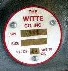 Used- Witte Vibrating Fluid Bed Dryer System.