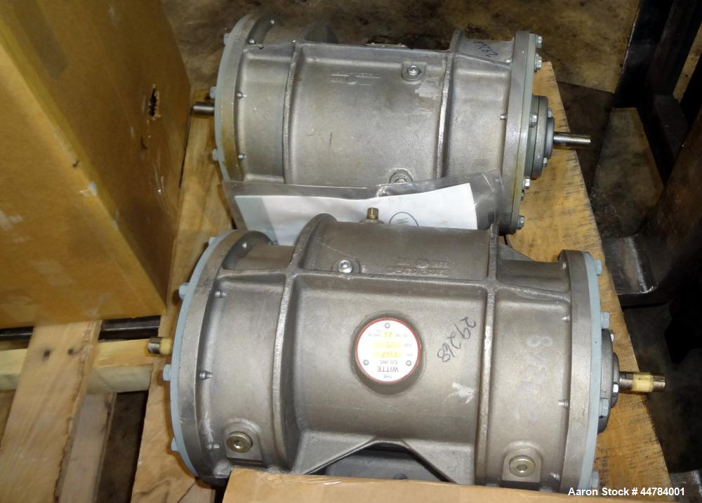 Used- Witte Vibrating Fluid Bed Dryer System, 304 Stainless Steel.  (5) Zone, gas heated, rated 8,000,000 btu/hr. Approximat...