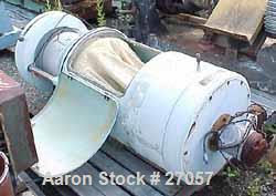 "Used- Aeromatic Lab Size Fluid Bed Batch Dryer, Model E-120-2. 16"" diameter x 12"" deep. Aluminum product bin. Plastic cylind..."