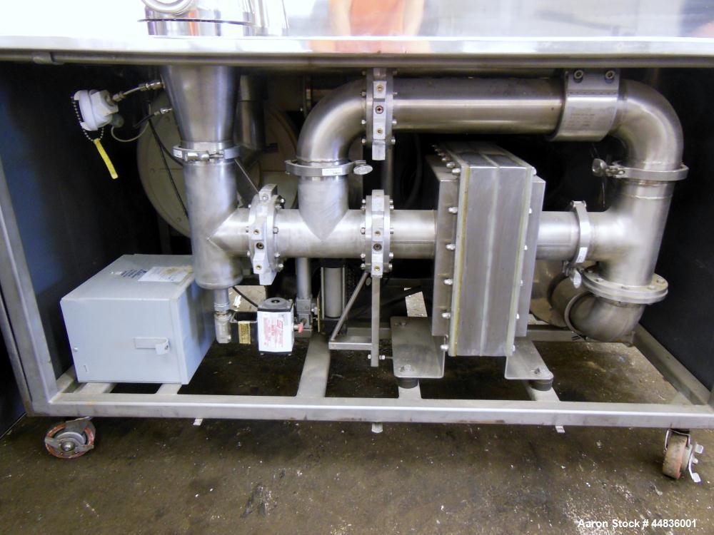 Used- Stainless Steel Gea Niro Aeromatic Fielder Batch Fluid Bed Multi-Processor