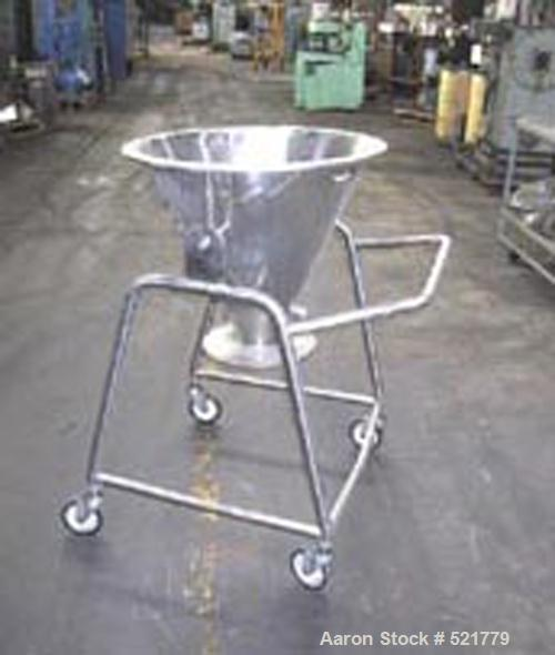 USED: Aeromatic/Niro fluid bed dryer, model S2-522.232. 316 stainless steel construction, 3-20 kg batch size, container volu...