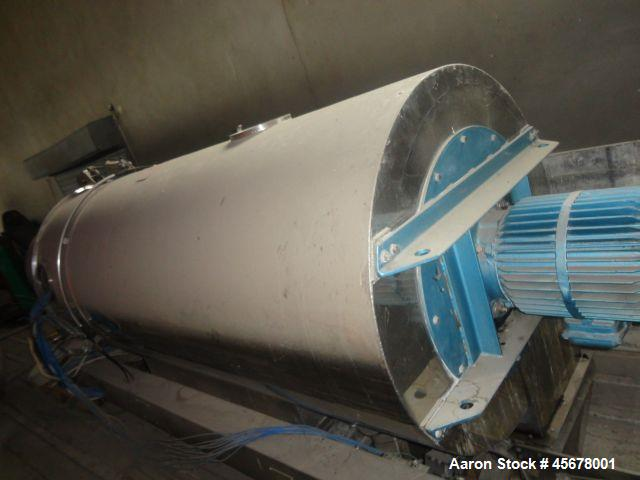 Used- Aeromatic Fluid Bed Dryer, Model ST9. Stainless steel. Capacity 352 lbs (160 kg) / batch.