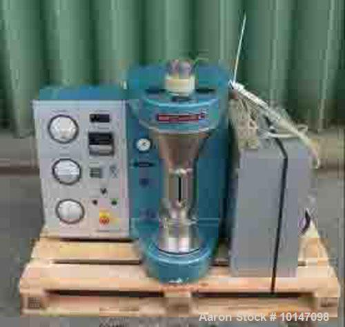 Used-Aeromatic STREA-1 Fluid Bed Dryer, Stainless Steel on product contact parts, capacity 0.053-053 gallon (0.2-2.0 litre)....