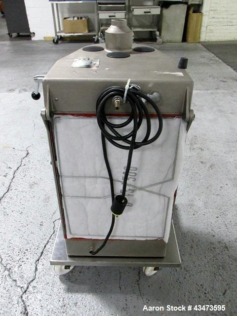 Used- Aeromatic Fluid Bed Dryer, Model Strea-1. 2 Liter capacity, rated 2 cu. mt./min. air flow capacity.