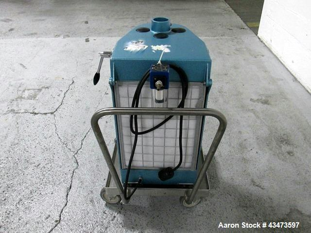 Used- Aeromatic Fluid Bed Dryer, Model Strea-1.  2 Liter capacity, rated 2 cu. mt./min. air flow capacity, serial# 169.2102.