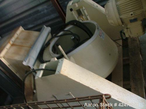 Used-Fitzaire Fluid Bed Dryer, Model FA-5, Batch Dryer. Total container volume 4.966 cubic feet, carrier and container stain...