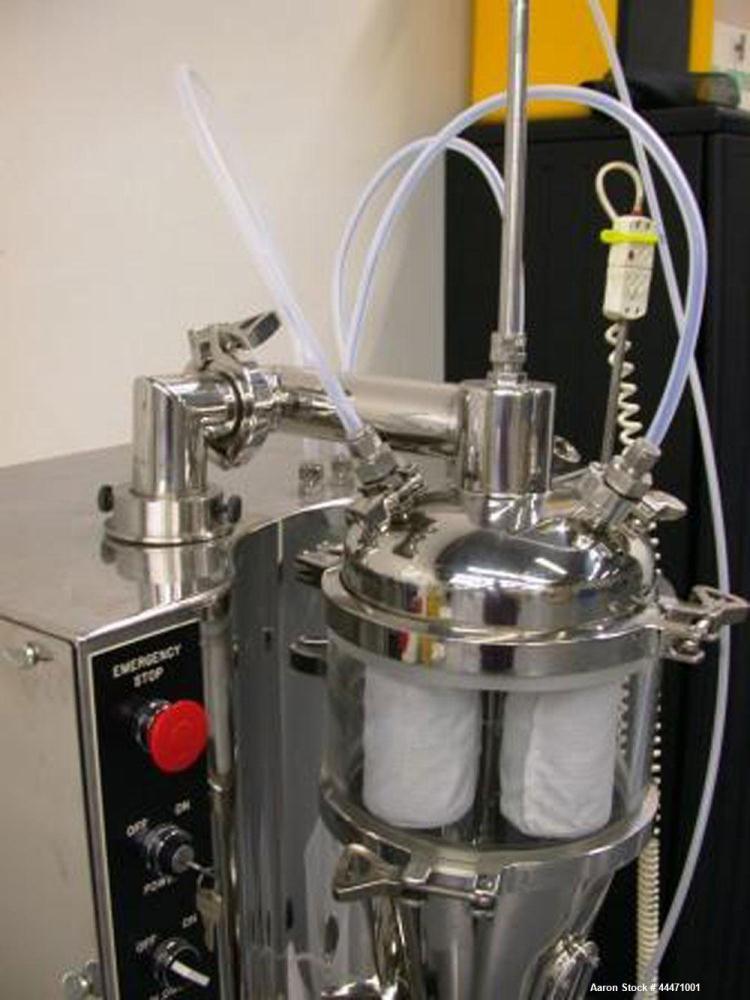 Used- Fluid Air GMP Fluid Bed Dryer/Granulator/Coater System, Model 0002