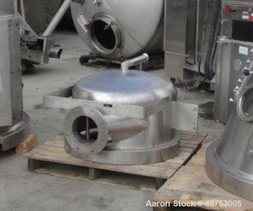 Used- Glatt Lower Plenum For A Model GPCG-30