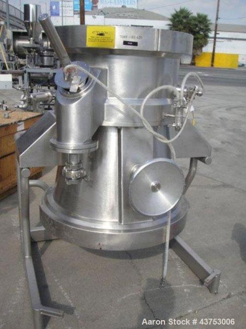 Used- Glatt RI620 Rotor Product Bowl