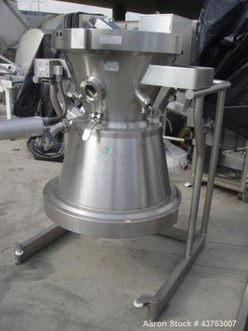 Used- Glatt 68 Liter Top Spray Product Bowl For A Model GPCG-30