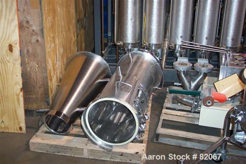 Used- Stainless Steel Glatt Batch Fluid Bed Powder, Model GPCG5