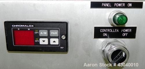 Used- Glatt LabSpray Passive Flow Spray Dryer, Model PFSD 100, 304 Stainless Steel. Main drying chamber 14'' diameter x 25''...