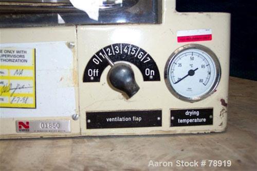Used- Glatt Laboratory Fluid Bed Dryer, Model TR2