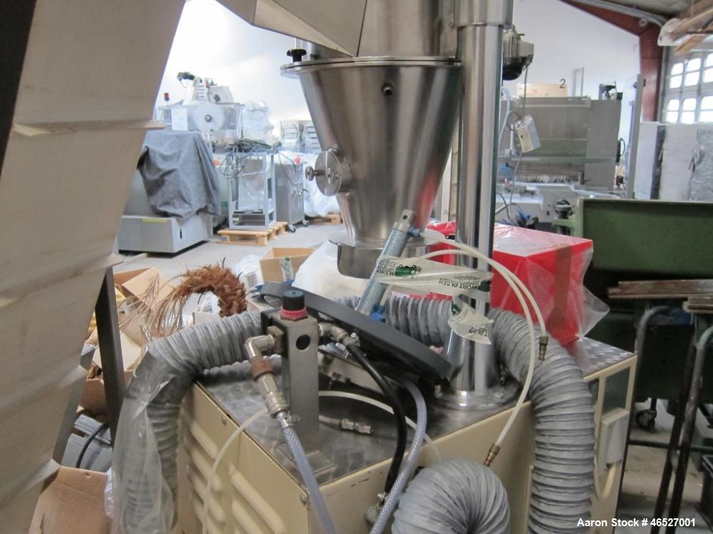 Used- Glatt Uni-Glatt Laboratory Fluid Bed Dryer. Stainless Steel construction on product contact areas. Approximately rated...