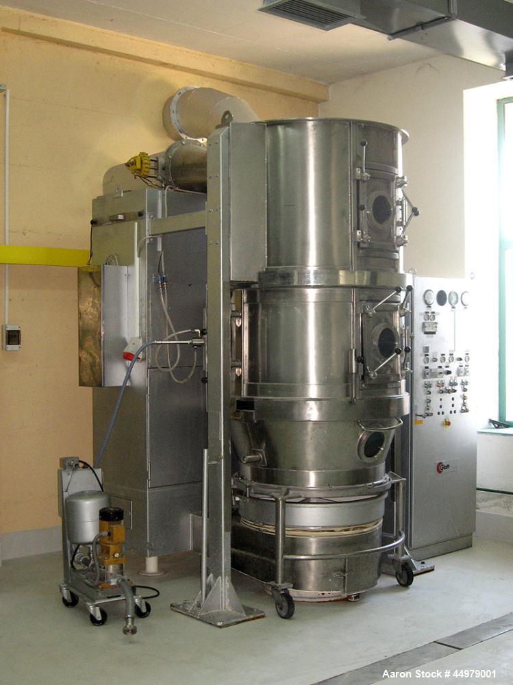 Used- Glatt Granulating Fluid Bed Dryer, Model WSG 120