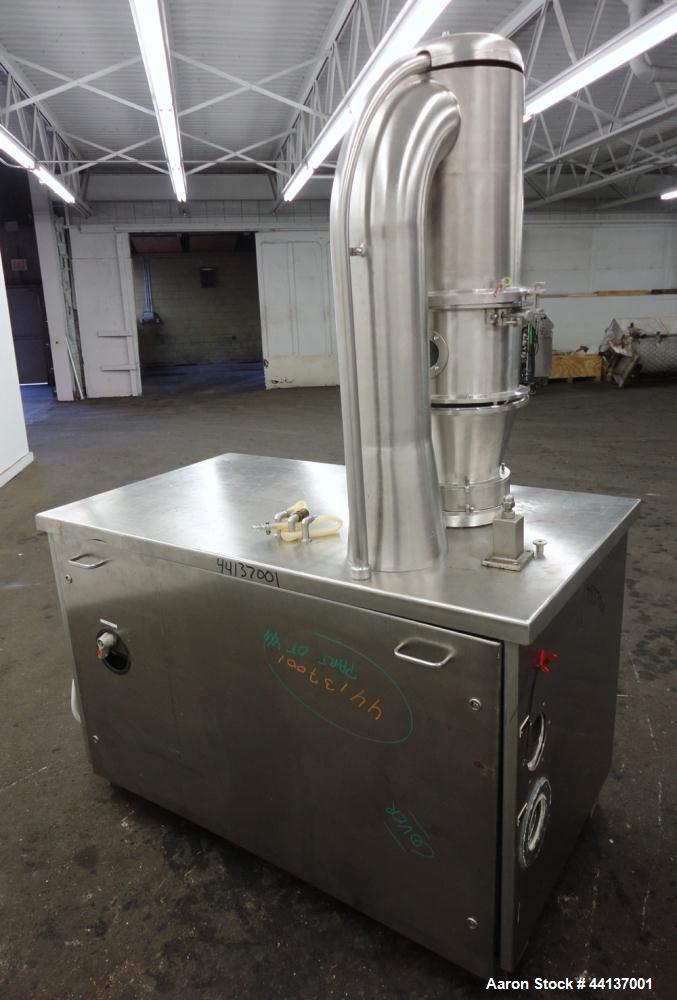 Used- Stainless Steel Glatt Granulating Fluid Bed Dryer, Model WSG-3/2V