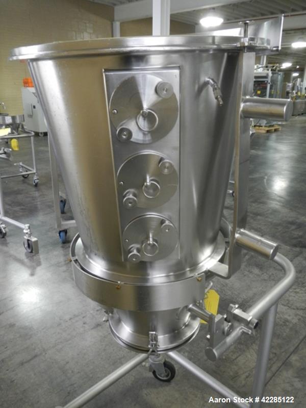 Used- Glatt Spray Granulation Chamber