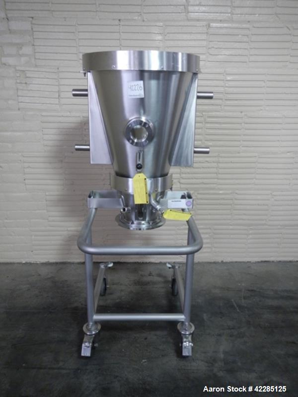 Used- Stainless Steel Glatt Spray Granulation Chamber