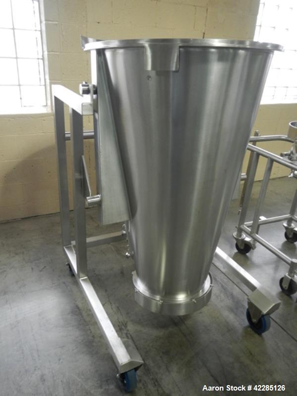 Used- Stainless Steel Glatt Spray Granulation Insert